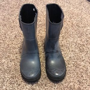 Hunter .Org ankle boot w/liners